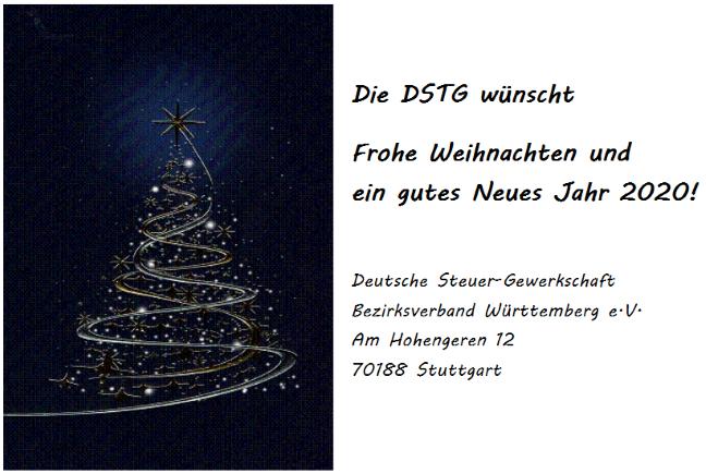 DSTG Wue Deutsche Steuer Gewerkschaft Württemberg